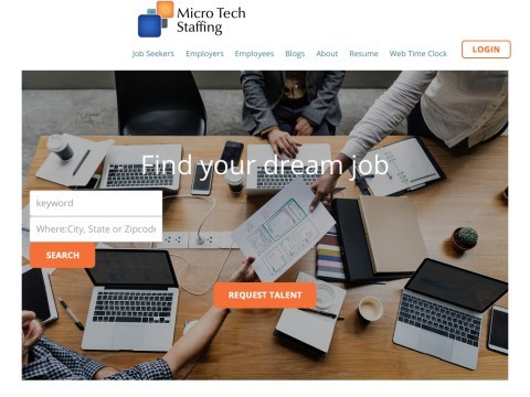 Micro Tech Staffing Group Temporary and Permanent Jobs Home Page