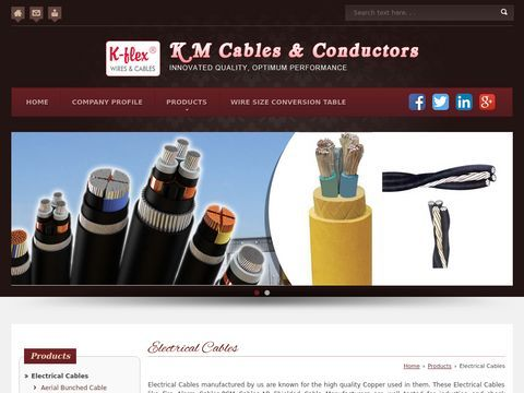 Electrical Cables Manufacturer Bangalore