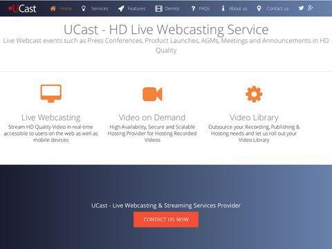 Live Webcasting - live streaming services | Live Webcast