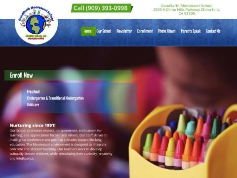 Preschool Montessori Childcare Chino Hills