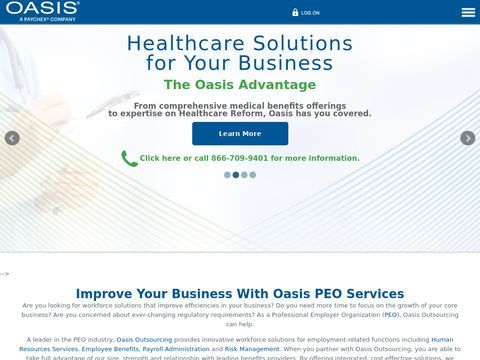 Oasis Outsourcing - PEO Services