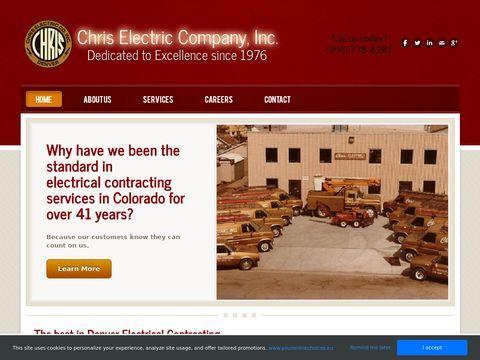 Chris Electric Company | Denver Electrical Contractors | Ele