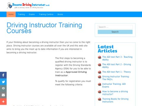 How to Become Driving Instructor