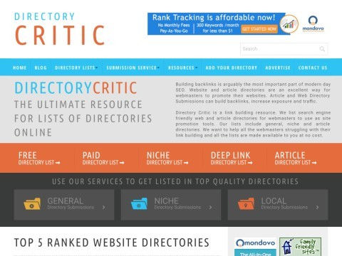 Link Building Using Directories