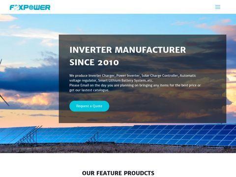 Uninterruptible power supply-Foxpower Technology Co., Ltd