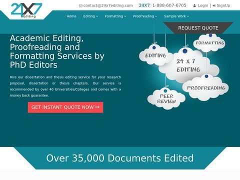 English Language Editing Service