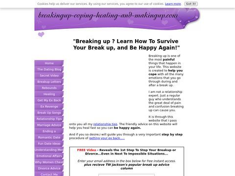 The MasterMOZ Web DirectoryBreaking Up Advice, How To Cope