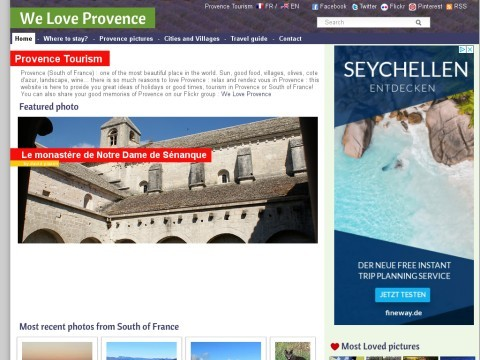 Provence : WE LOVE Provence - Welcome in Provence - Provence France