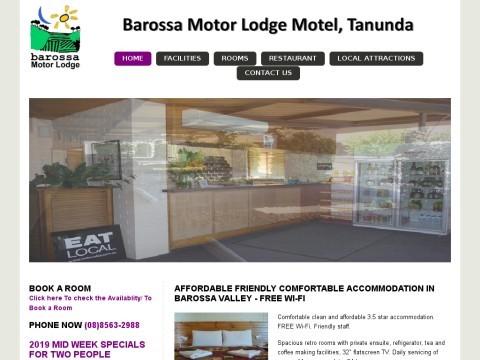 Barossa Motor Lodge, Motel | Eco Friendly Accommodation | Tanunda, SA