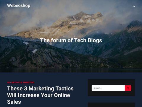 create e-commerce site