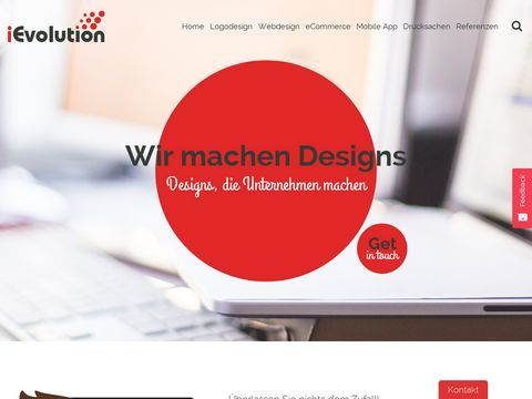 Logodesign, Webdesign   iEvolution GmbH