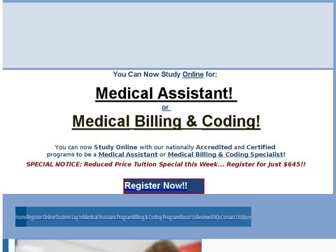 Medical Assistant :: Medical Assistant Certificate Program