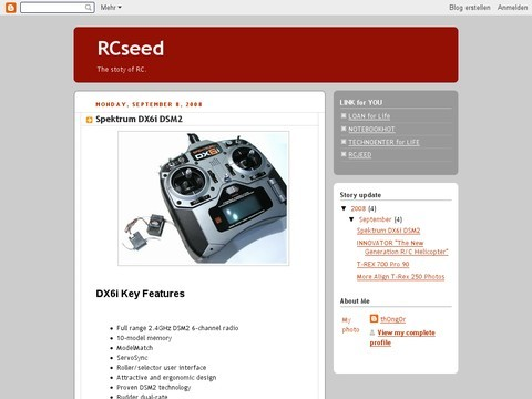 RC Seed  hobby for life.