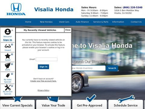 Visalia Honda