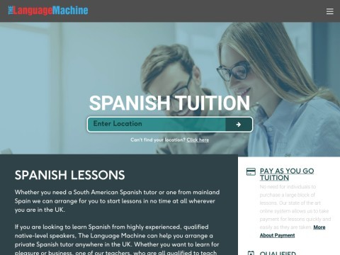 Spanish lessons London