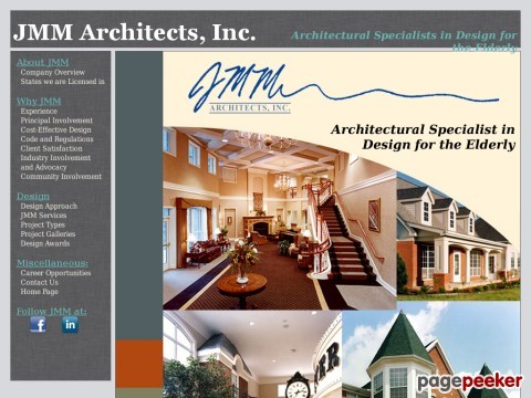Nursing Home and Retirement Community Architects and Designers - JMM Architects, Inc