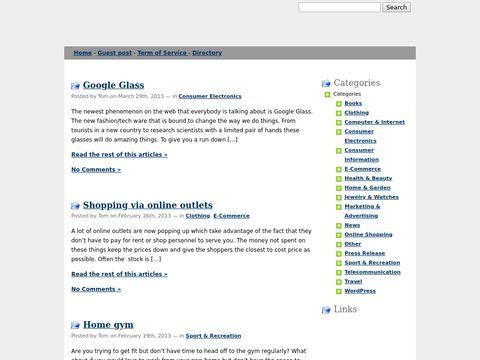 Elib: Online Stores