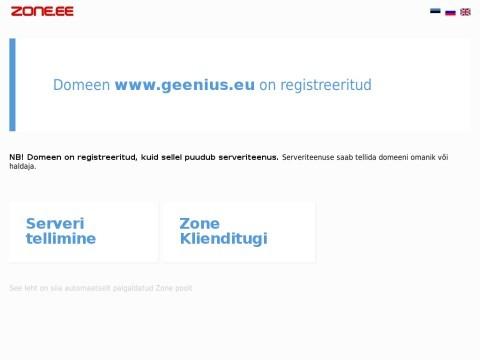 Geenius | Learning materials