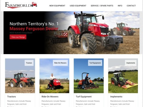 Farm World | Agricultural Machinery Sales And Service Centre | Humpty Doo