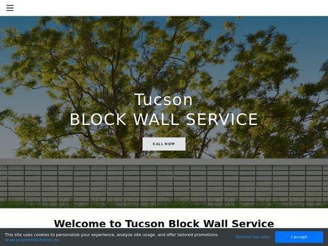 Block Wall Repair Contractor Tucson