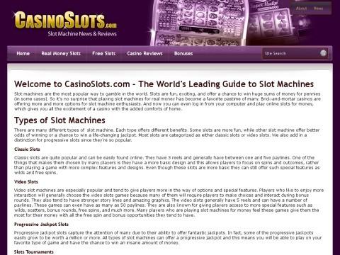 Antique Slot Machine Game