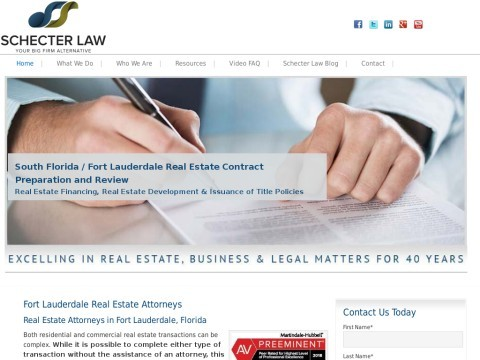 Fort Lauderdale Real Estate Attorney