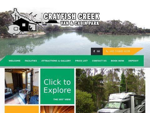 Crayfish Creek | cabin park | Spa Tree House | Northwest Tasmania, Australia