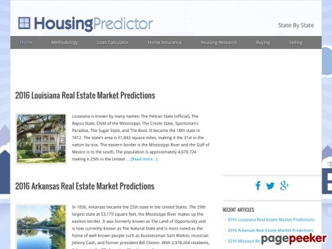 Housing Market Forecasts and Real Estate News