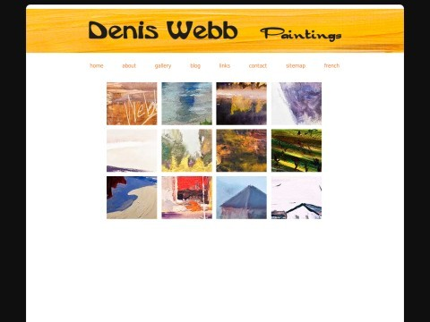 Painter Denis Webb