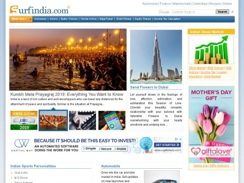 Surfindia-Online Directory of India