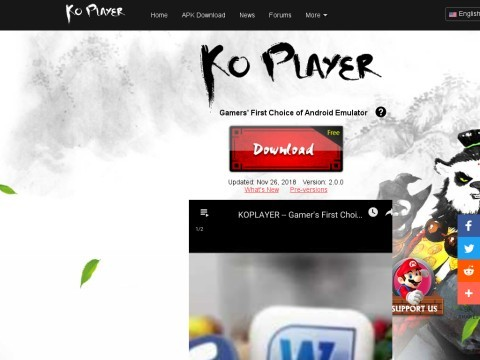 The Best Free Android Emulator for PC - KOPLAYER